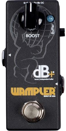 Wampler DB Plus Boost V2 and Independent Buffer Pedal