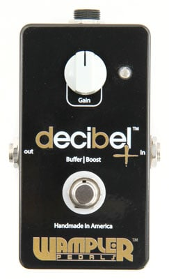 Wampler Decibel Plus Signal Buffer and Boost Guitar Pedal