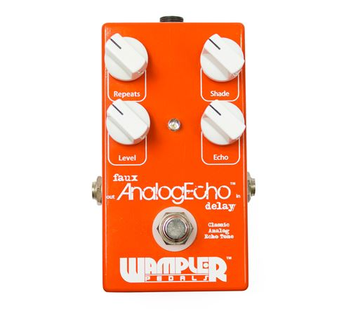 Wampler Faux AnalogEcho Delay Guitar Effects Pedal