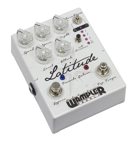 Wampler Latitude Tremolo Deluxe Guitar Effects Pedal