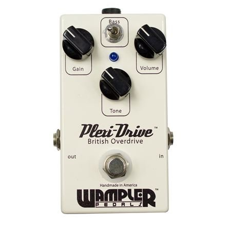 Wampler Plexi-Drive British Overdrive Guitar Effects Pedal