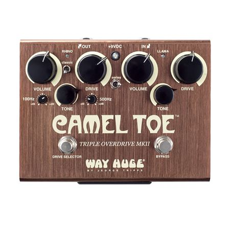 Way Huge Camel Toe Triple Overdrive Pedal