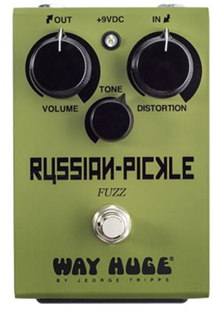 Way Huge Russian Pickle Fuzz Pedal