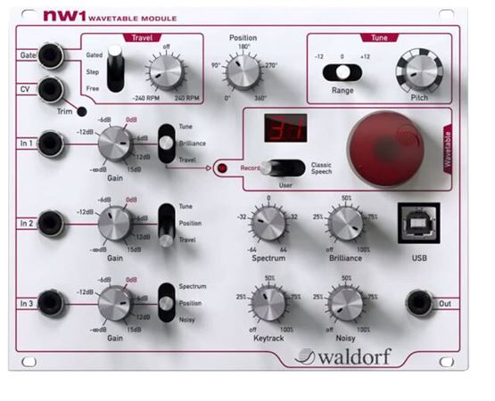 Waldorf NW1 Wavetable Synthesizer Module