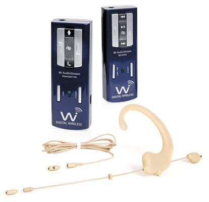 Wi Digital AudioStream EL2 Headset/Lavalier Wireless Mic System