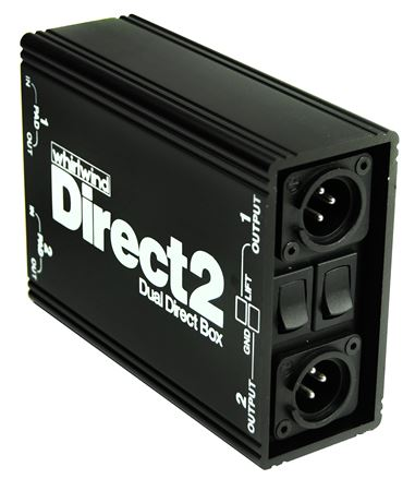 Whirlwind DIRECT2 Passive Dual Direct Box