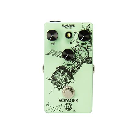 Walrus Audio Voyager Preamp Overdrive Pedal