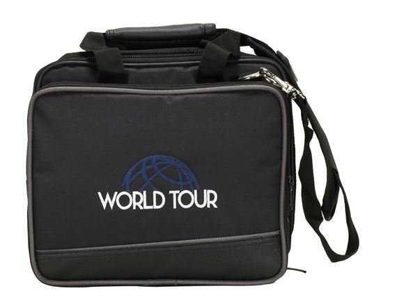 World Tour EB4 Deluxe Gig Bag 10 x 8.25 x 3""