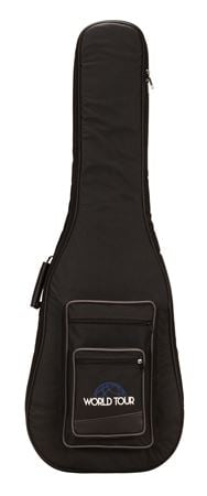 World Tour Deluxe 20mm Bass Guitar Gig Bag