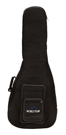 World Tour Deluxe Acoustic Electric Bass Guitar Gig Bag