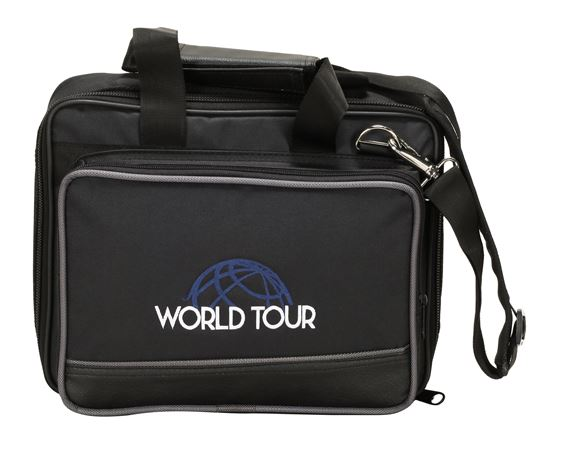World Tour EB8 Deluxe Gig Bag 12.5 x 9.5 x 3.5""