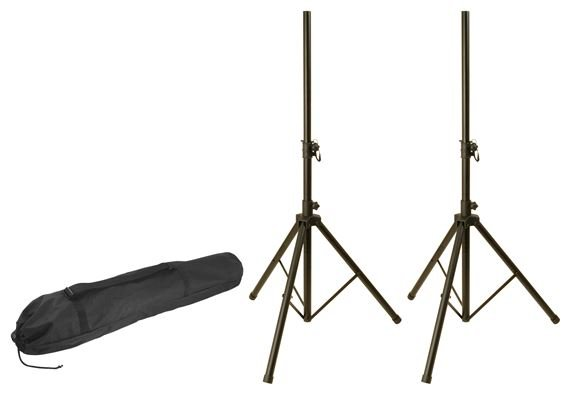 World Tour SSP8 Speaker Stands with Bag Pair