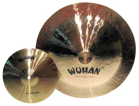Wuhan Splash And China Cymbal Value Package