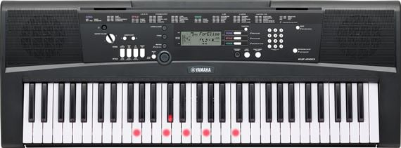 Yamaha EZ220 Lighted 61 Key Portable Keyboard