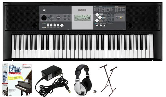 Review yamaha ypt230 61 key portable keyboard learn to for Yamaha learning keyboard
