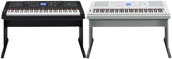 Yamaha DGX660B Portable Digital Piano