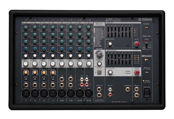 Yamaha EMX312SC Powered Mixer with Effects