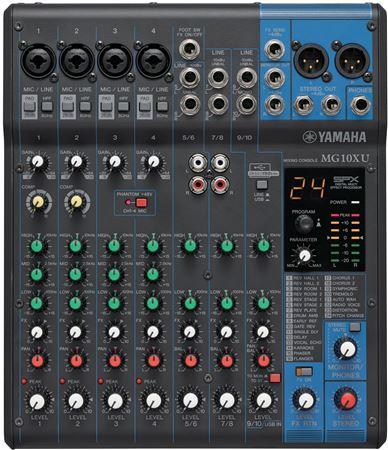 Review demo yamaha mg10xu mixer karaoke system for Yamaha mg10xu review