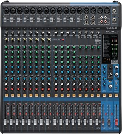 Yamaha MG20XU 20 Channel Stereo USB Mixer with Effects