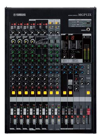 Yamaha MGP12X 12 Channel 4 Bus Mixing Console