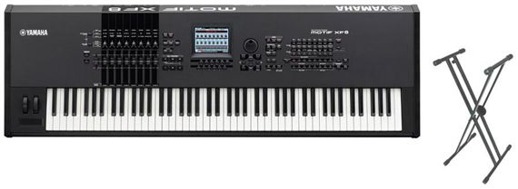 Yamaha Motif XF8 88 Key Keyboard Synthesizer Workstation