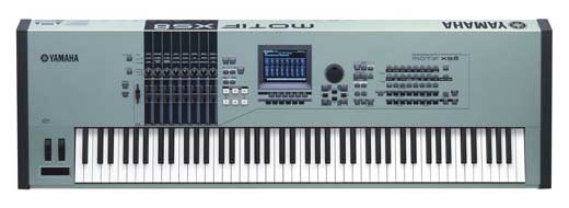 Yamaha Motif XS8 88 Key Synthesizer Workstation