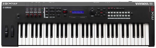 Yamaha MX61 61 Key Synthesizer Keyboard Controller
