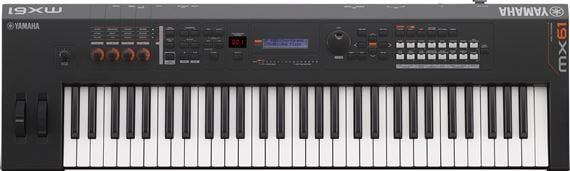 Yamaha MX61 V2 61-Key Keyboard Synthesizer
