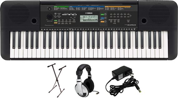 Yamaha Psre253 Pks Keyboard Package With Sxks Stand
