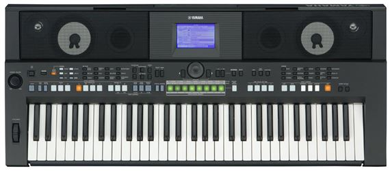 Yamaha PSRS650 61 Key Arranger Workstation Keyboard