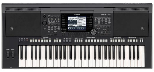 Yamaha PSRS750 61 Key Arranger Workstation Keyboard