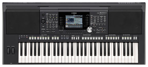 Yamaha PSRS950 61 Key Arranger Workstation Keyboard