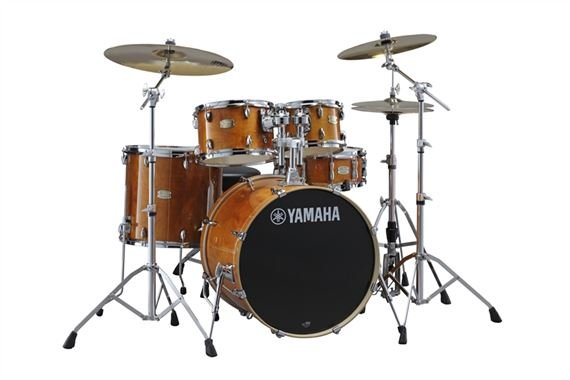 Yamaha Stage Custom 5-Piece Drum Set with Hardware and Throne