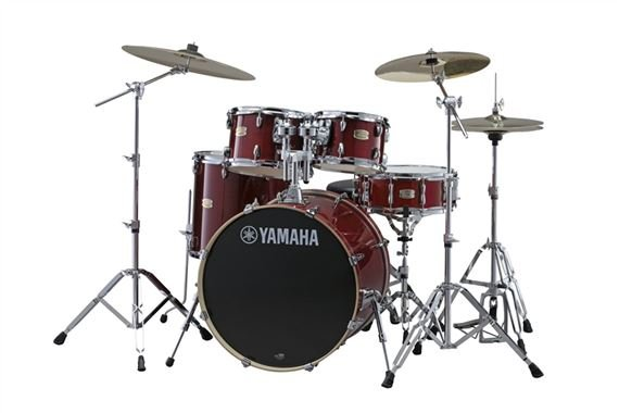 Yamaha Stage Custom Birch 5 Piece Shell Kit Drum Set