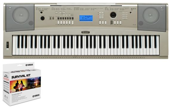 Yamaha ypg235 76 key portable grand piano with survival kit for Yamaha ypg 235 manual