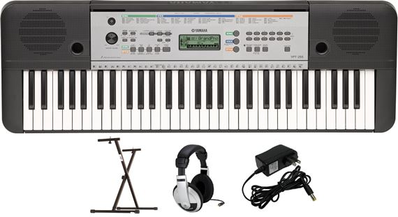 Yamaha YPT255 61-Key Keyboard Package with YXKS Stand