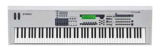 Yamaha MO8 88 Key Synthesizer Keyboard