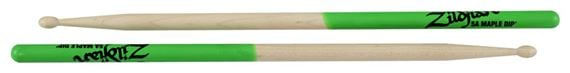 Zildjian 5A Maple Green Dip Drum Sticks