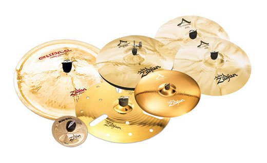 Zildjian A Custom Anniversary and FX Cymbal Package