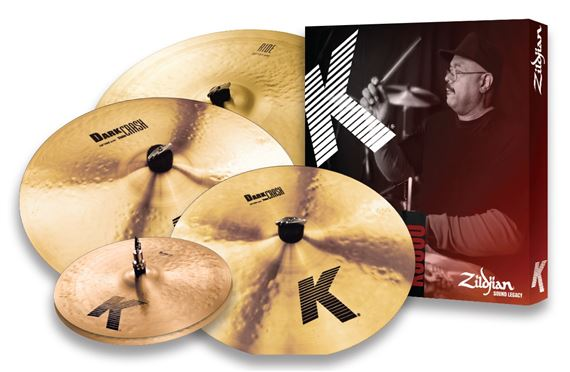 Zildjian K Custom Crash Cymbal Package