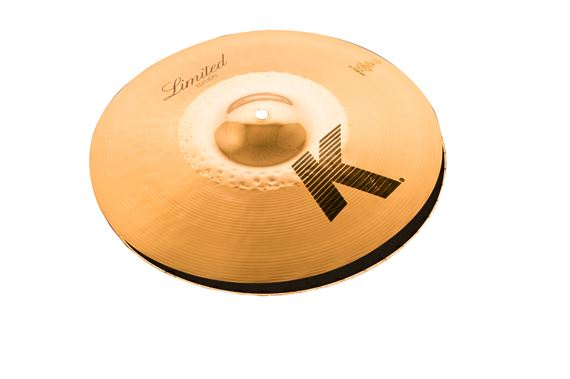 Zildjian Limited Edition 14 K Custom Hybrid Reversible Hi Hats Pair