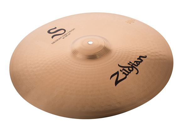 Zildjian S-Series Medium Thin Crash Cymbal Brilliant Finish