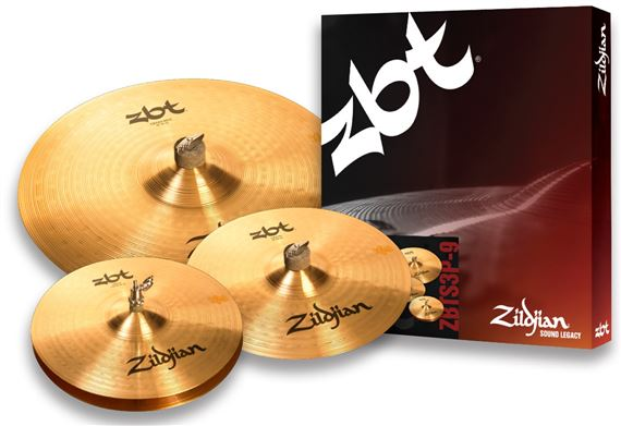 Zildjian ZBT3 Value Added Cymbal Set