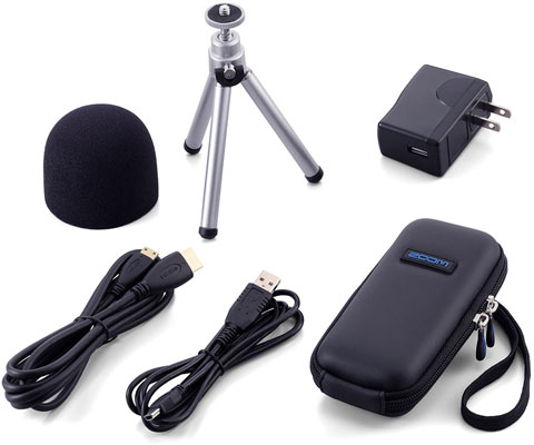 Zoom APQ2HD Accessory Package for Q2HD