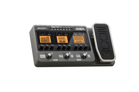 Zoom G3X Guitar Multieffects Pedal
