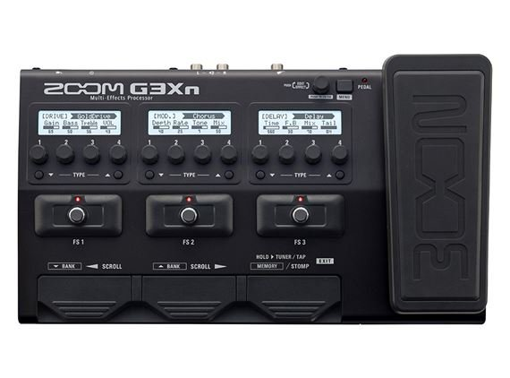Zoom G3Xn Multi Effects Guitar Pedal