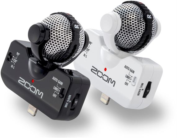 Zoom iQ5 Lightning Stereo Microphone for iOS Devices