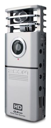 Zoom Q3HD Portable High Def Audio Video Digital Recorder