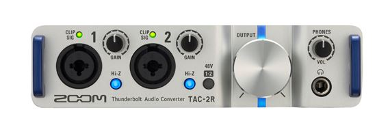Zoom TAC2R High speed Thunderbolt Audio Interface