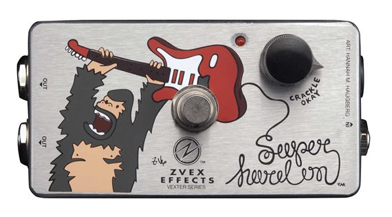 ZVEX Vexter Super Hard On Ultra High Impedance Preamp Boost Pedal